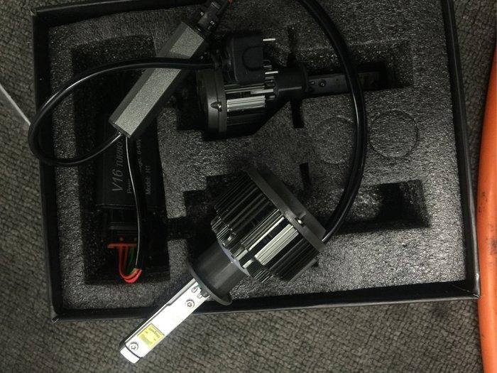 H1 led大燈 3600流明 40w 可裝近 h1 魚眼 bwsr 彪虎 魚眼 可直上