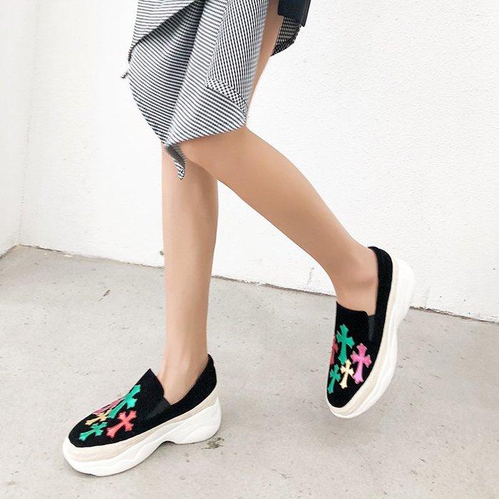『Alice❤愛麗絲』超火的鞋子女復古休閑百搭女鞋新款夏秋老爹運動鞋