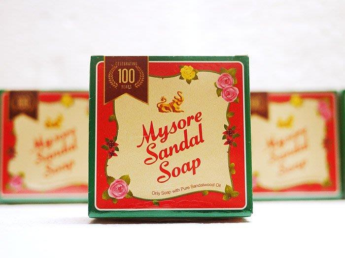 印度 Mysore Sandal Soap 皇家御用 頂級檀香皂 另售 印度Medimix☆MUSE 愛美神☆