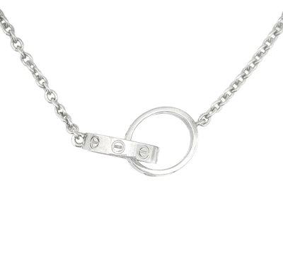 【JHT金宏總珠寶/GIA鑽石專賣】原裝Cartier 項鍊 /材質:18K(附盒.證)
