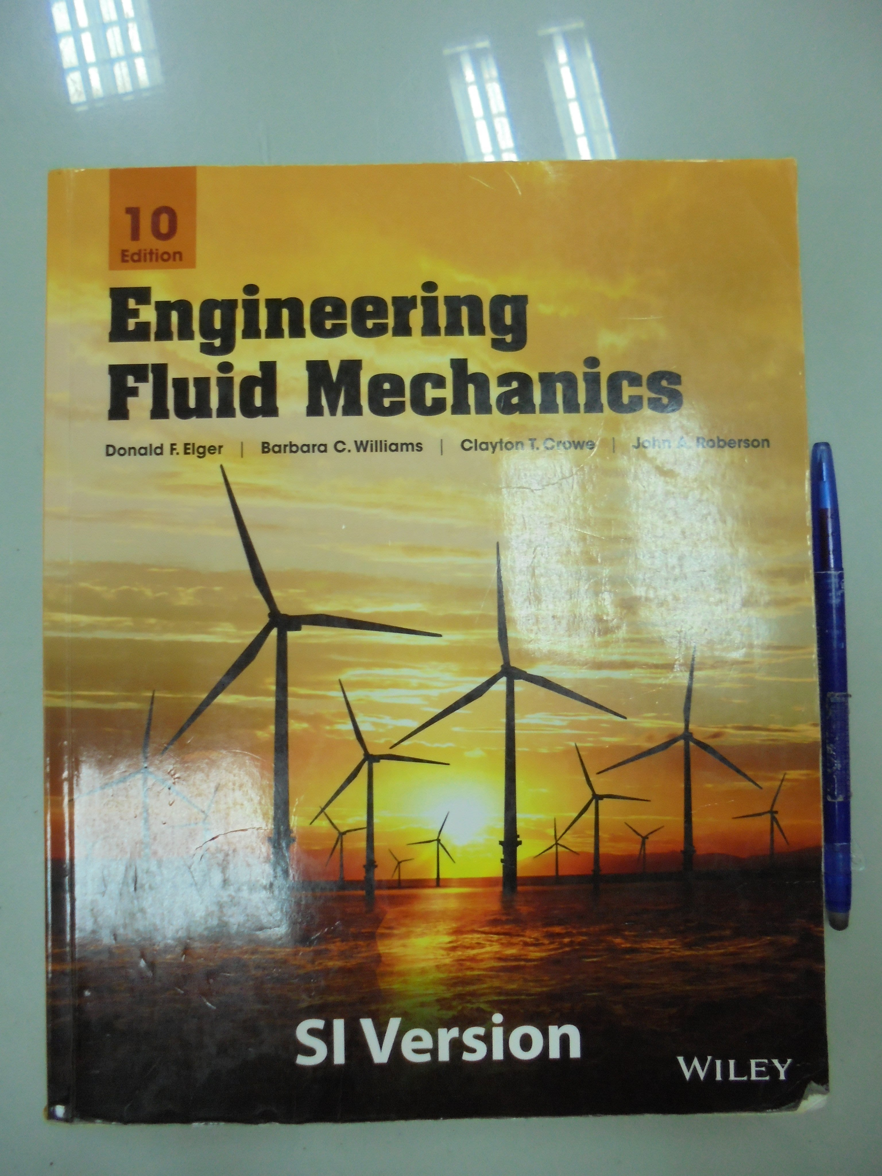 A11-5bc☆2014年出版『Engineering Fluid Mechanics 10/e』《WILEY》