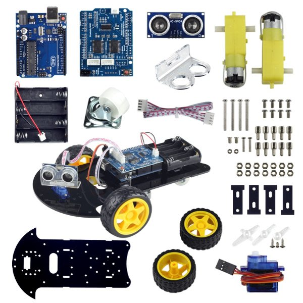 Smart Robot Car自走車套件 for Arduino