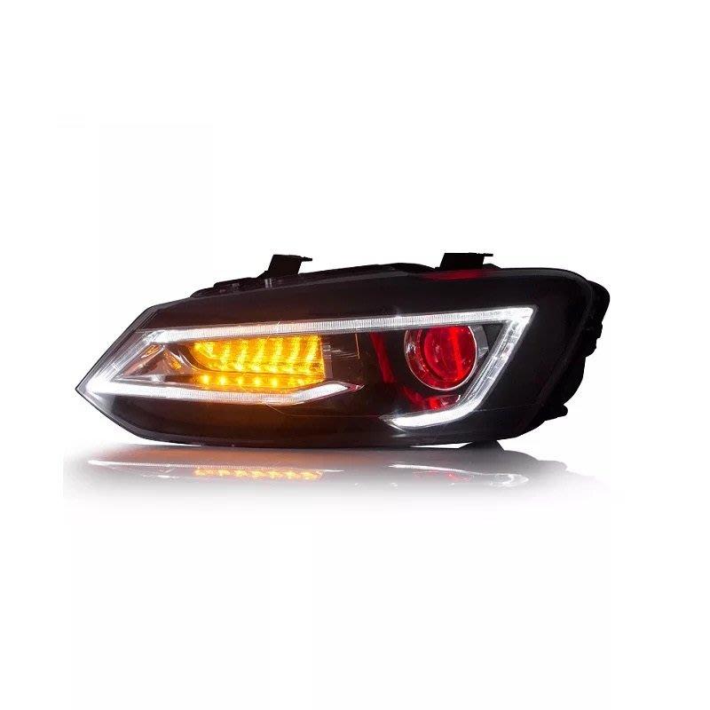 炬霸科技 POLO LED 魚眼 日行燈 光圈 大燈 頭燈 方向燈 跑馬 10 11 12 13 14 15 16 17