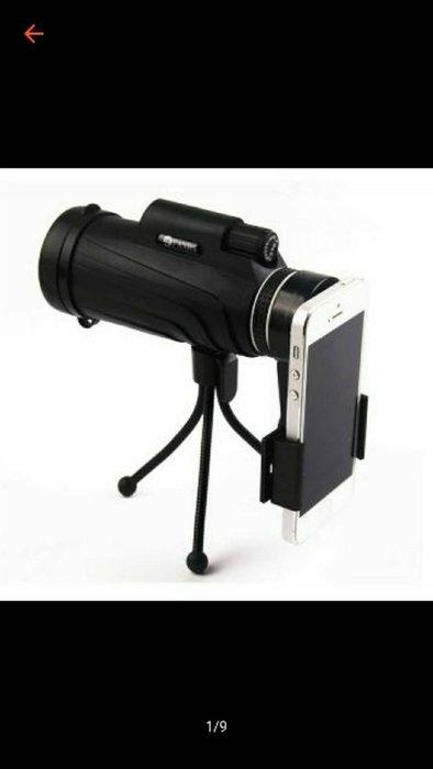現貨~手機望遠鏡 40X60高倍數 手機望遠鏡 便攜式登山旅遊演唱會小孩表演單筒高清高倍正品