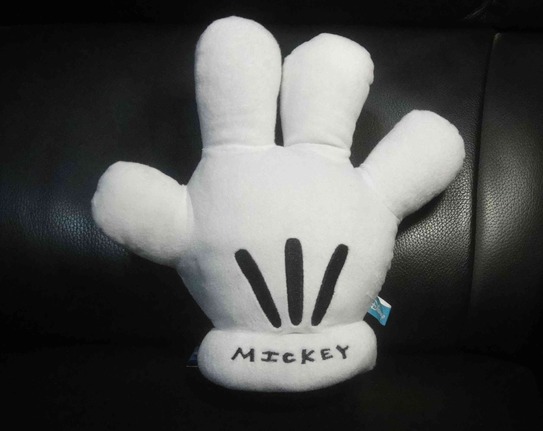 全新㊣授權迪士尼 米奇手套/白手套/吊飾