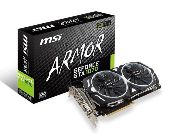 @電子街3C 特賣會@缺貨GeForce GTX 1070 ARMOR 8G OC(鎧甲虎) GTX1070