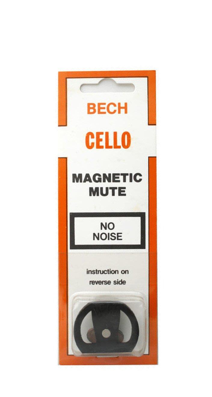 【現代樂器】全新荷蘭BECH magnetic cello mute 橡膠製 磁力弱音器 大提琴 弱音器