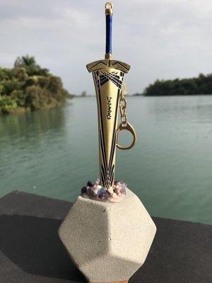 石中劍之黃金聖劍拆信刀(22cm黃金聖...