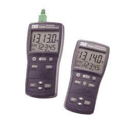 TECPEL 泰菱》TES-1314 K.J.E.T.R.S.N. 溫度錶 雙組多功能數字 溫度計