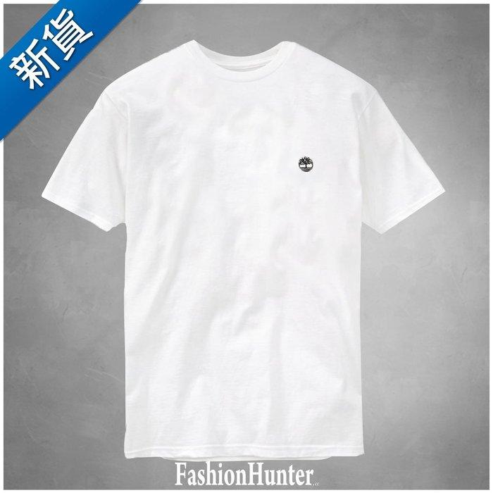 新貨【FH.cc】Timberland 素t 素面T恤 白 刺繡小樹 踢不爛 天伯倫 另有 Tommy Polo A&F