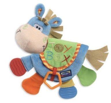 [多力安 小舖] Play Gro 布质小马玩偶/幼童安抚玩偶/宝宝安全玩具 PG0101146