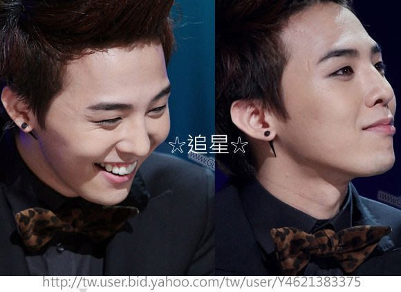 ☆追星☆ A149(二款可選)圓平面直獠牙耳環(1個)Big Bang權志龍GD G-Dragon ASMAMA正品 韓國進口