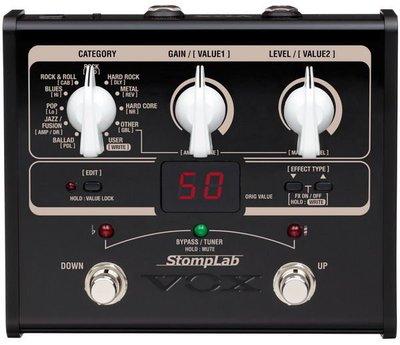 ☆ 唐尼樂器︵☆ Vox StompLab IG 電吉他綜合效果器(日本製)