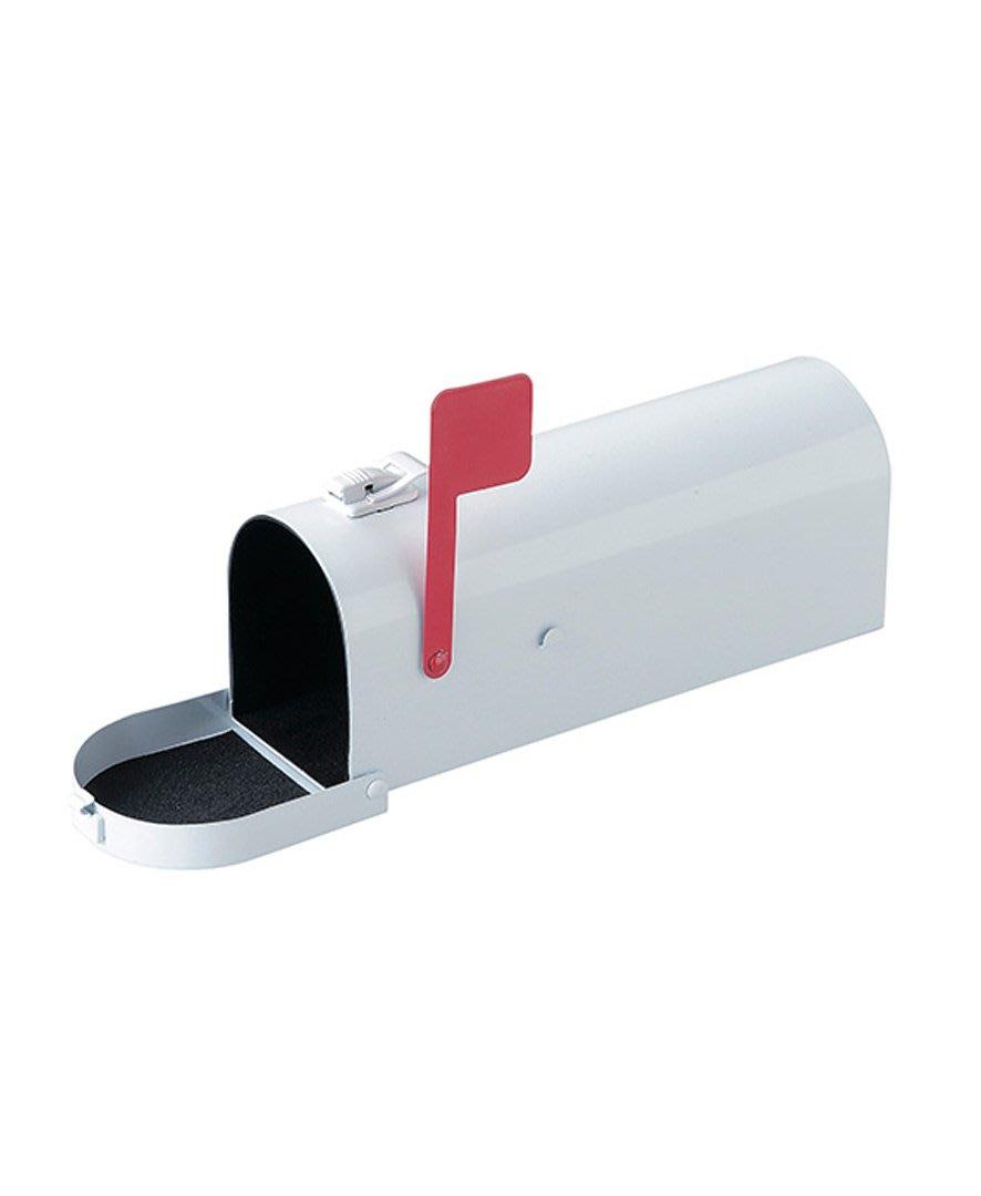 SUSS-日本Magnets 美國復古信箱造型收納盒/鉛筆盒/筆袋(白)