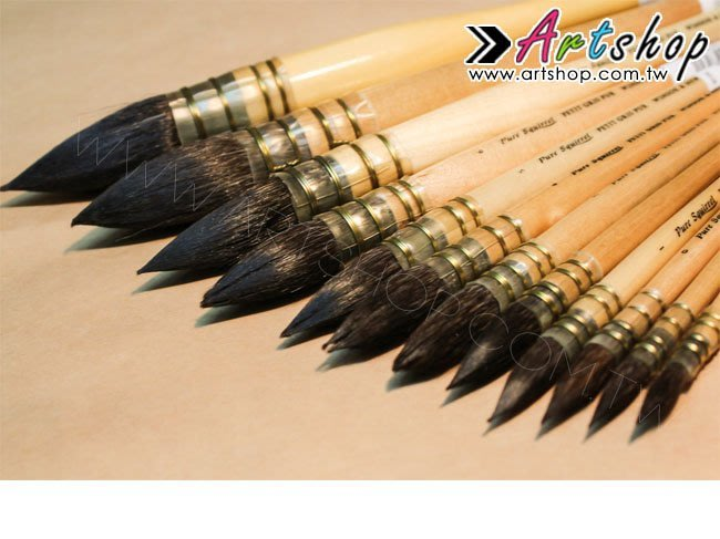 【Artshop美術用品】英國 溫莎牛頓 純松鼠毛水彩筆「#8」