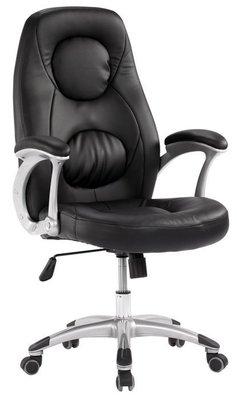 【DH】商品編號BC274-4商品名稱黑皮辦公椅/電腦椅˙台灣出品。座椅可升降。主要地區免運費