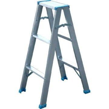 【TRENY直營】3階鋁製輕型梯 3A 扶手梯 工作梯 手扶梯 一字梯 A字梯 梯子 輕型梯 1508