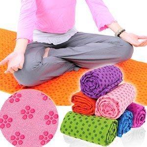 100%超細纖維瑜珈鋪巾送收納袋運動鋪巾運動墊瑜珈墊止滑墊防滑墊瑜珈毯子地墊野餐墊腳踏墊子D087-125⊙哪裡買⊙