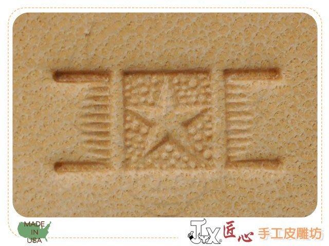☆ 匠心 手工皮雕坊 ☆ 美製 Hide Crafter印花(編號:PX003)  /皮革 陶土 刻印