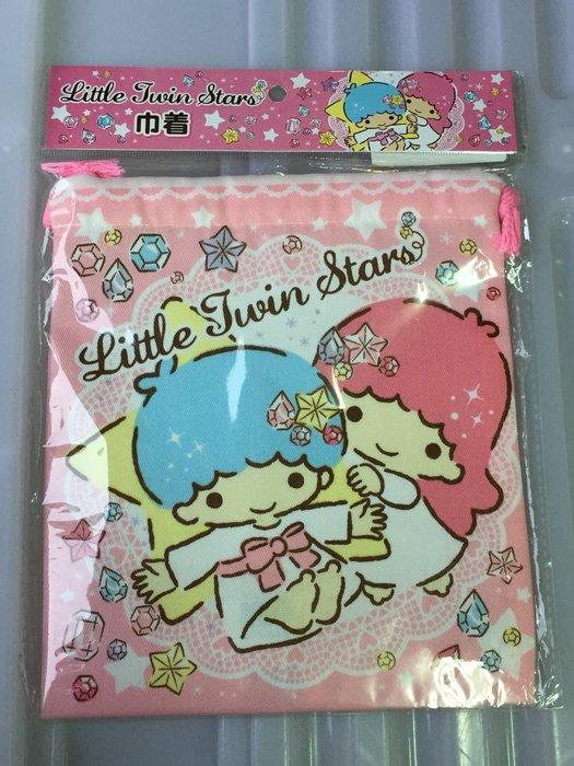 雙星仙子束口袋 縮口袋 正日版 雙子星 Little Twin Stars kikilal