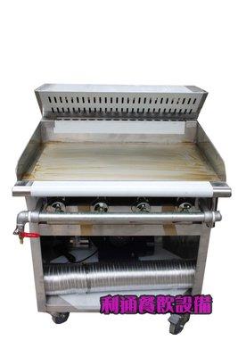 利通餐飲設備》靜音式馬達型 美式-煎台+煙罩 75×63/76×80/91 煎台含煙罩 牛排煎爐 日式煎台 早餐店煎台