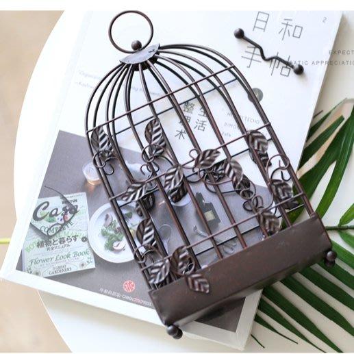 日式創意鐵藝鳥籠造型蚊香架