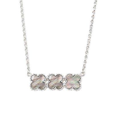 【JHT 金宏總珠寶/GIA鑽石專賣】天然珍珠母貝項鍊/材質:18K/(JB25-A017B)