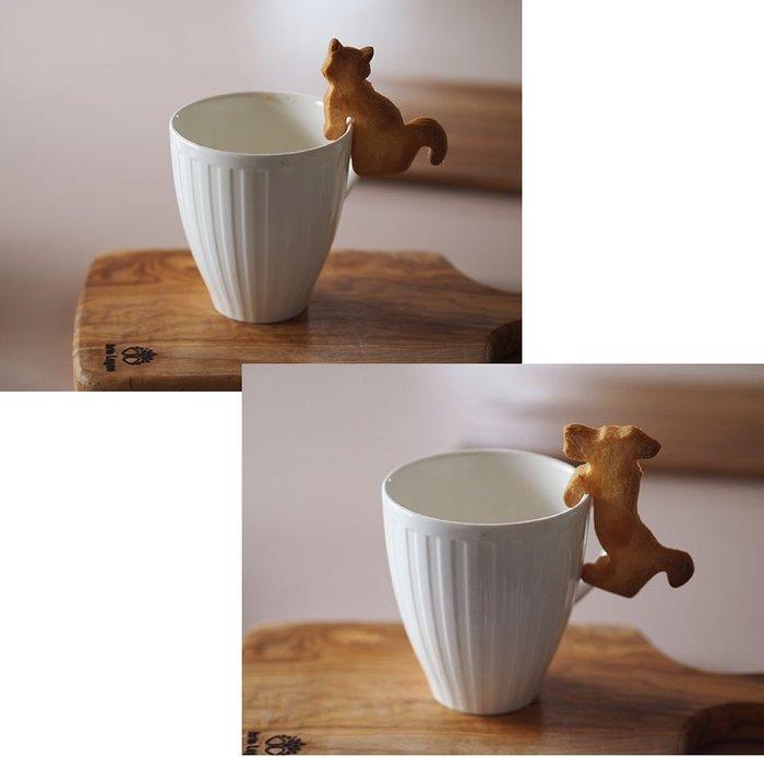 ❤Lika小舖❤日本製 不鏽鋼 餅乾壓模 動物造型 杯緣子 杯緣掛飾 模型 A貓咪 B小狗 C袋鼠 D海豚 E大象 F馬