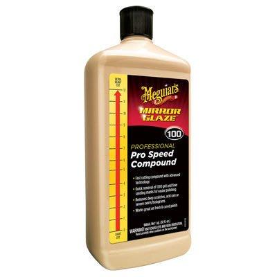 【易油网】Meguiar s Pro Speed Compound 专业双效清洁快速抛光剂 M10032