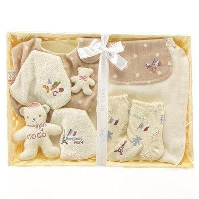 尼德斯Nydus~* 嚴選日本製 BE CERA 嬰兒/Baby用品 授乳圍兜 吸汗墊背巾 襪子 LOLO COCO禮盒