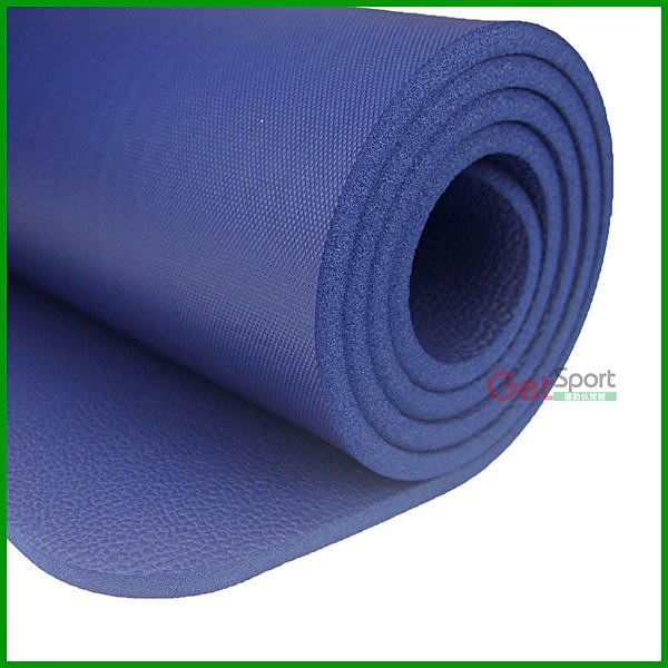 (免運費)加厚瑜珈墊10mm(1公分瑜伽墊/NBR/超厚/台灣製造/止滑/防滑瑜珈墊/附背袋)