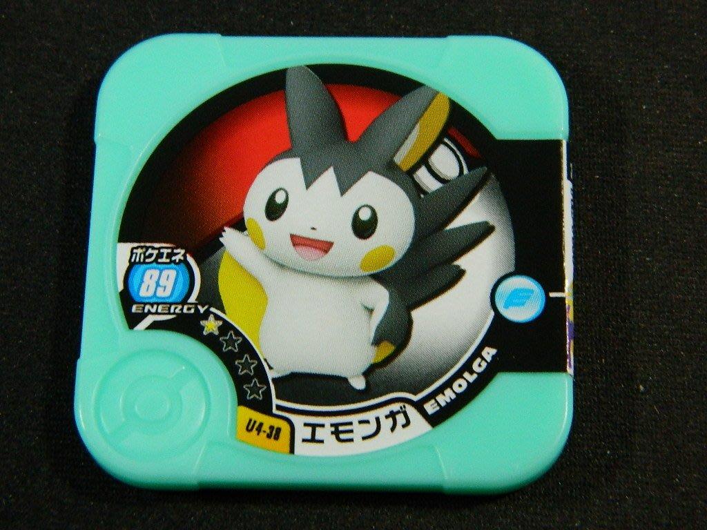 日本正版 神奇寶貝 TRETTA U4彈 一星卡 導電飛鼠 U4-38 台灣可刷 二手品