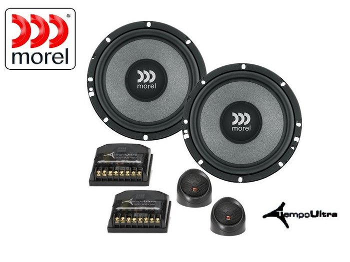 Morel TEMPO Ultra 602 6.5 吋分音喇叭(加贈喇叭魔音圈)