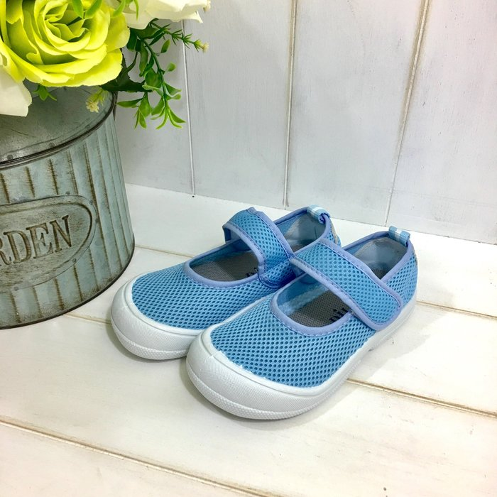 【 RGT 】全新 | 透氣網布室內鞋 | 幼兒園幼稚園安親班室內鞋/學生鞋/便鞋/休閒鞋 | 多尺寸可選 | 水藍色