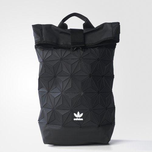 Adidas originals 愛迪達 三宅一生 格菱紋 後背包 黑色 2017年款