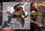 【紫色風鈴】英雄聯盟LOL 源計劃劍聖林易大師劍聖裝備擺件 港版