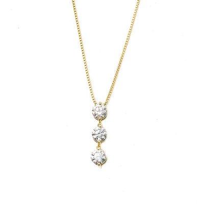 【JHT 金宏總珠寶/GIA鑽石專賣】1.00ct天然鑽石項鍊/材質:18K(JB39-B16)
