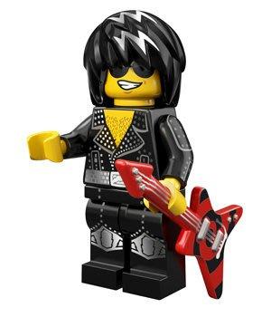 現貨【LEGO 樂高】積木/ Minifigures人偶系列: 12代人偶包抽抽樂 71007 | 搖滾巨星+電吉他
