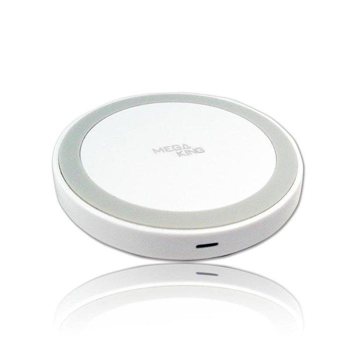 全新 MEGA KING 15W無線充電盤 黑 白