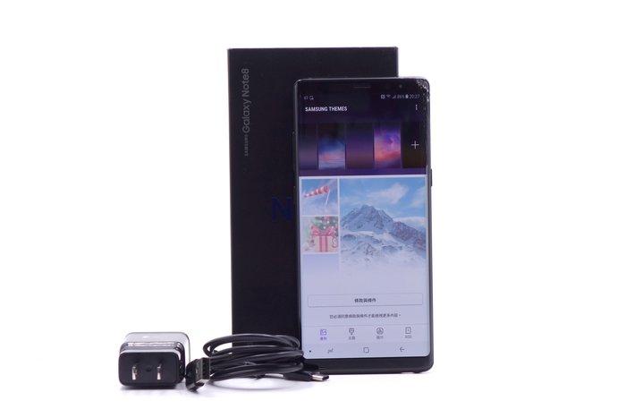 【台中競標】Samsung Galaxy Note 8 N950F 晶墨黑 64G 標多少賣多少 螢幕破裂 #23783