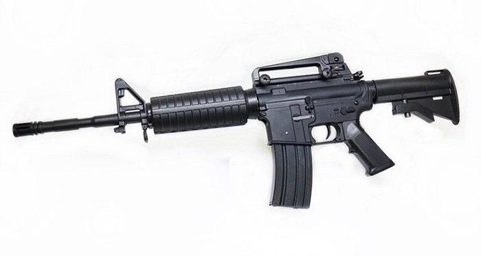 IGUN M4A1 電動槍 黑 運動A版