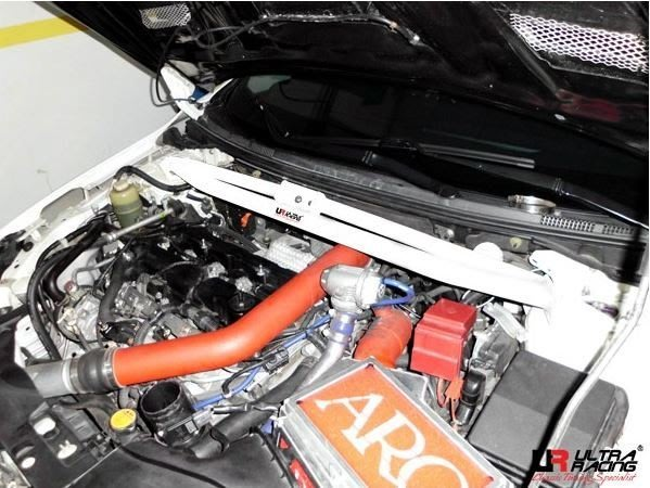CS車宮車業 UR 拉桿 三菱 EVO 10 引擎室拉桿 TW3-1426
