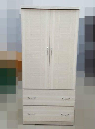 全新庫存家具賣場  全新白色康乃馨單人衣櫃 衣櫥 收納櫃*庫存臥室家具拍賣床組床墊床架書桌