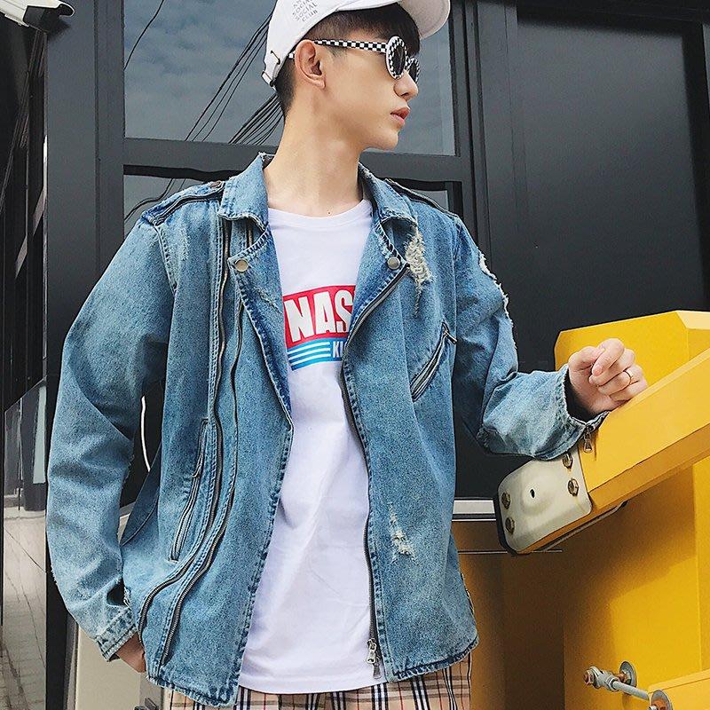 『折扣店』(841804)105-114CM2018春牛仔外套我們的少年時代同款衣服牛仔衣青春潮流