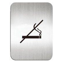 [職人の紙.二店工場] 美國迪多 Deflect-o/高質感鋁製品 系列/標示貼牌/禁止吸菸      方形/含稅價 !
