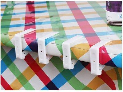 【大山野營】中和 TNR-100 透明 桌布夾 桌巾夾 蛋捲桌 休閒桌 野餐桌 竹板桌 料理桌 白金廚房 摺疊桌
