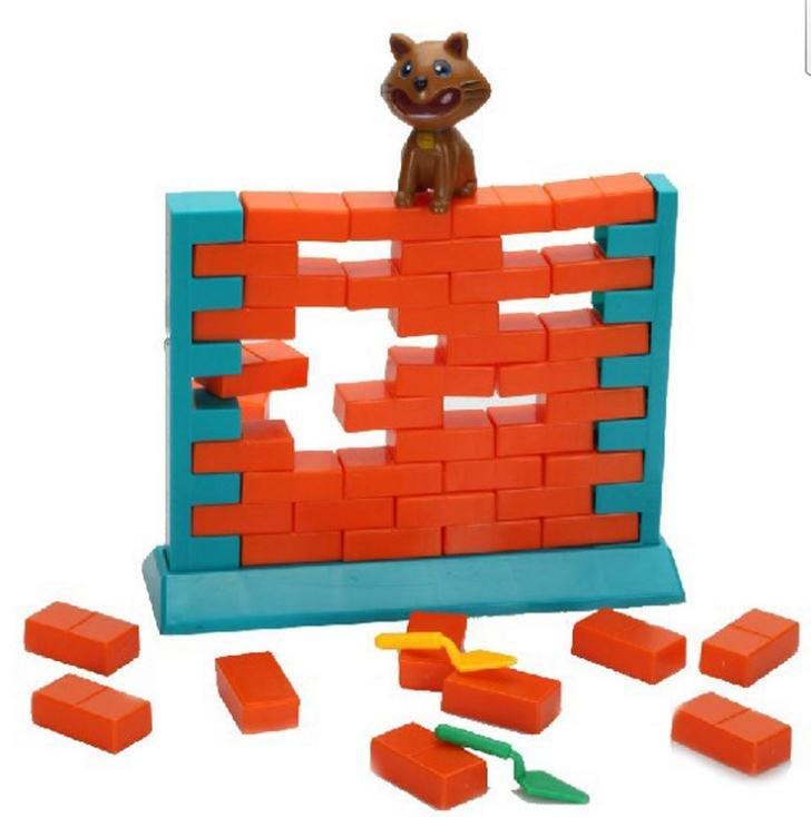 ☆天才老爸☆→可愛貓拆牆玩具←拯救蜜蜂遊戲盒 拯救蜜蜂 拆牆遊戲 蜜蜂窩敲敲 拯救小蜜蜂 親子桌遊  疊疊樂 抽抽樂
