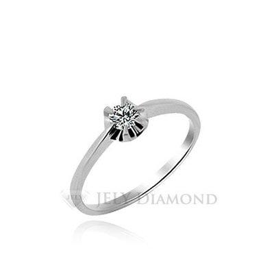 《JELY時尚館》【JELY Diamond】完美---10分天然真鑽石戒指 §會員終生獨享交換維修優惠§