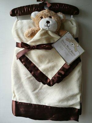 【美國品牌】100%全新正品 嬰幼兒 輕柔舒眠 極柔絨毯/ 毛毯/ 抱毯/ 萬用毯 冷氣房可用 彌月禮 二件組BAB11