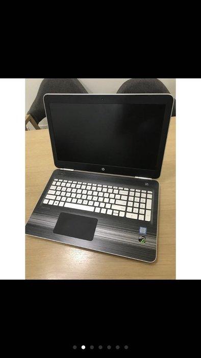筆電 HP Pavilion 15-bc213TX 15吋 電競筆電 i7-7700HQ